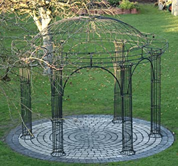 rund metall perfect gartentisch rund metall mit with rund metall best gartenlaube garten. Black Bedroom Furniture Sets. Home Design Ideas