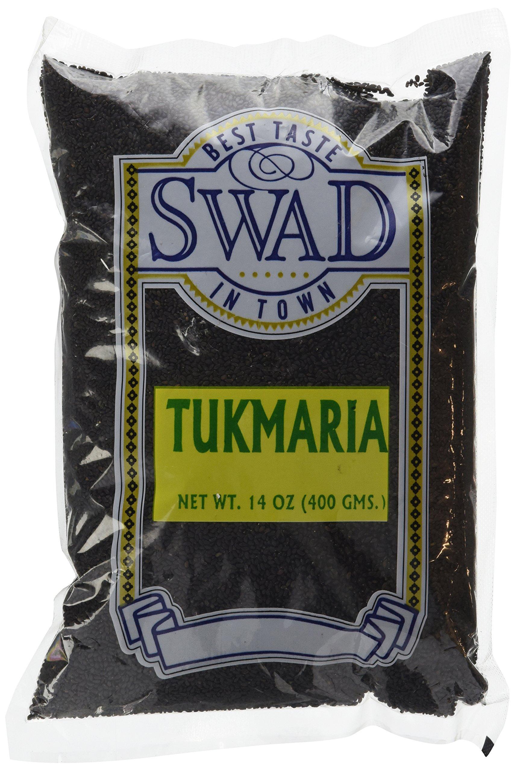 Swad 400gm Tukmaria Sacred Basil Seeds, 14Oz