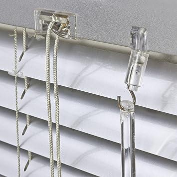 T/ür Fenster Rollo Jalousette Aluminium Fensterjalousie Lamellen Metall H/öhe 130//160 // 220 cm Breite 40 bis 240 cm Alu Jalousie wei/ß 40 x 130 cm