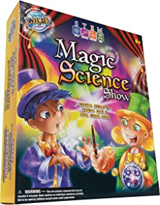 WILD! Science Magic Science Show - Explore Amazing STEM Experiments - Easy to Follow Activities - Introduction to Science and Magic