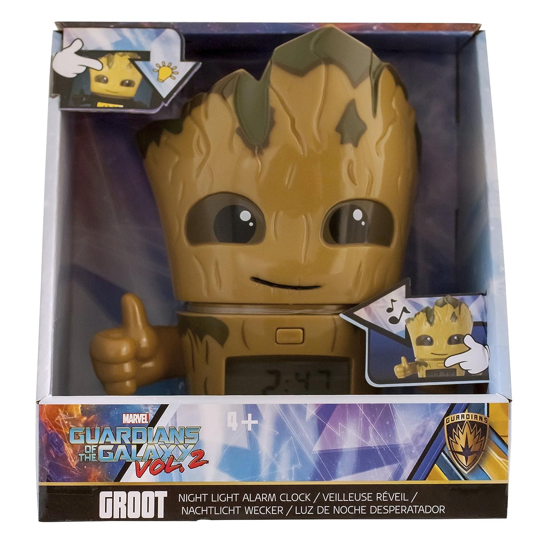 Amazon.com: Bulb Botz 2021340 Guardians of The Galaxy Vol. 2 Groot Alarm Clock: Bulb Botz: Home & Kitchen