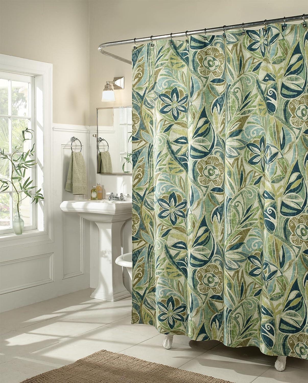 Amazon.com: m.style Island Breeze Shower Curtain: Home & Kitchen