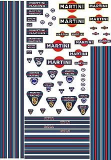 "Car Motorbike Stripes Exterior Vinyl Decal Martini Racing Style Tape .5/"" 13mm"