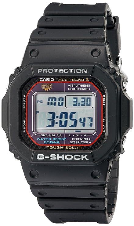 867469b6e76c Amazon.com: Casio Men's G-Shock GWM5610-1 Tough Solar Black Resin Sport  Watch: Casio: Sports & Outdoors