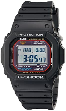 37153173fa8f Image Unavailable. Image not available for. Color  Casio Men s G-Shock  GWM5610-1 Tough Solar Black Resin Sport Watch