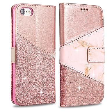 glitter flip case iphone 8