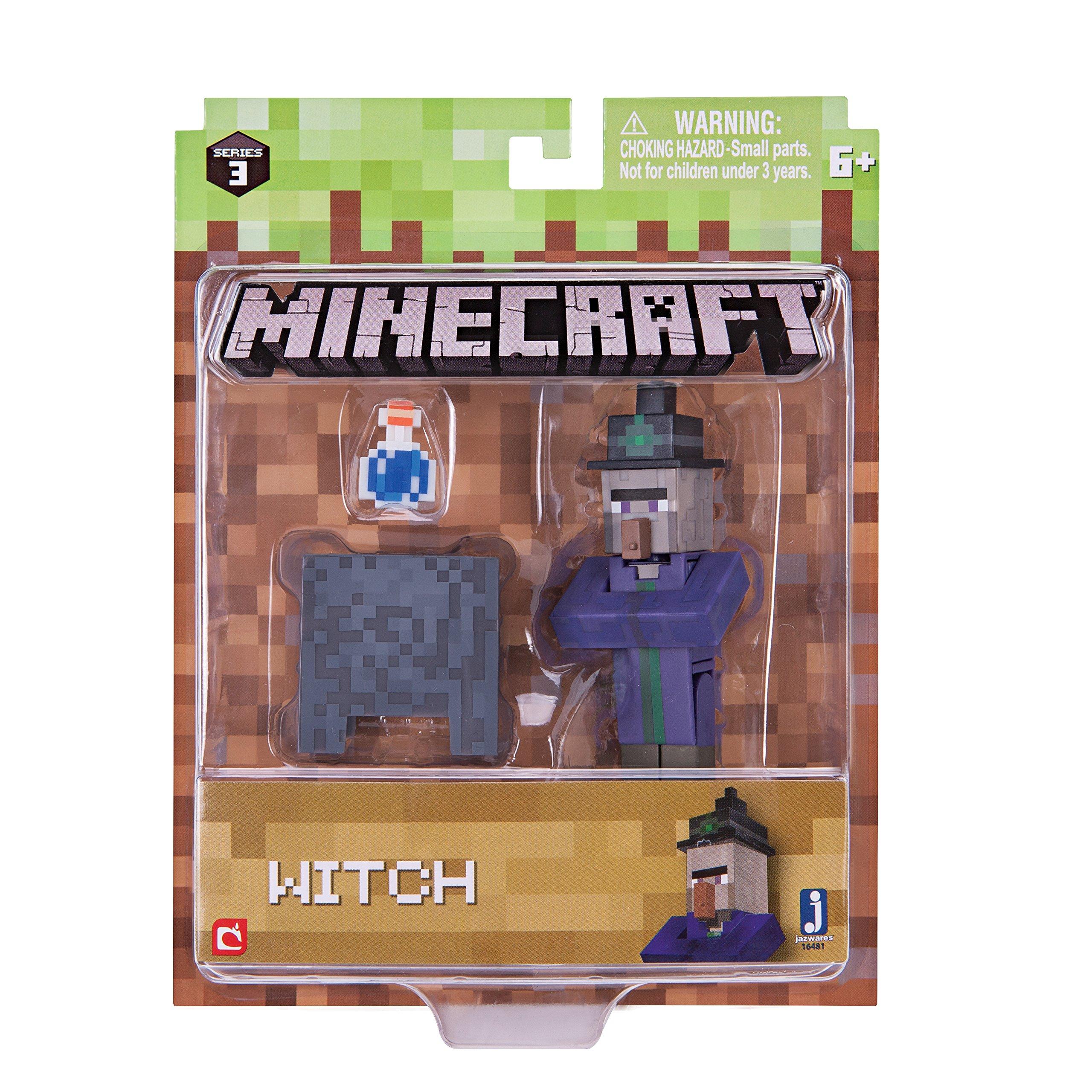 Minecraft TOP Plüschfigur ** Hexe ca 35cm Witch **  Lizenzware NEU