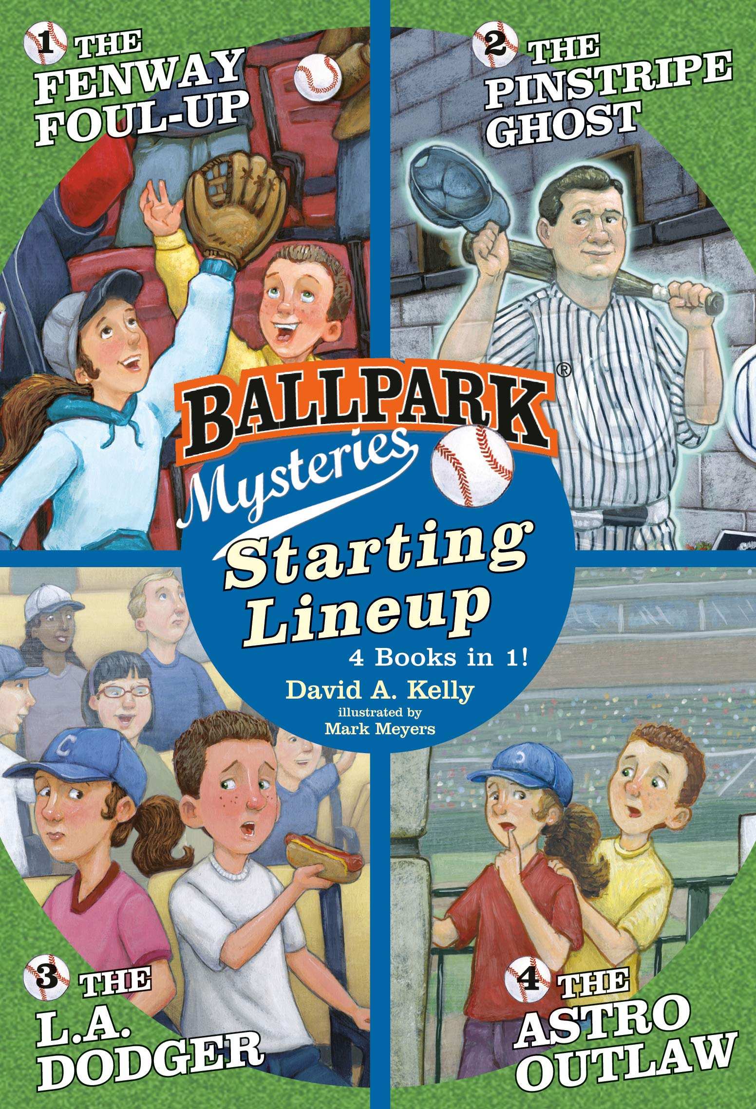 Buy Ballpark Mysteries Starting Lineup Books 1 4 Book Online At Low Prices In India Ballpark Mysteries Starting Lineup Books 1 4 Reviews Ratings Amazon In