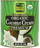 Native Forest Organic Coconut Cream, 96 Ounce