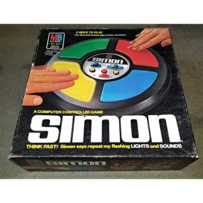 Simon 1978 Electronic Game by Milton Bradley: Toys & Games