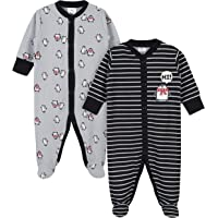 GERBER Baby Boys 2-Pack Thermal Sleep 'N Play