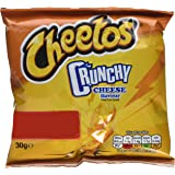 Walkers Cheetos Crunchy Cheese Corn Snacks, 30 g, Pack of 30