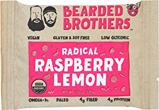product image for Bearded Brothers, Bar Radical Raspberry Lemon Organic, 1.52 Ounce