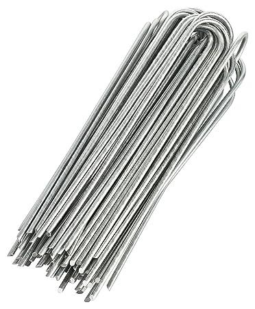 GardenMate® 100 Erdanker VERZINKT aus Stahldraht 200mm, 25mm breit ...