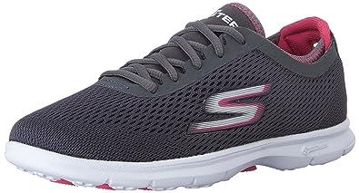 NEU SKECHERS Damen Fitness Sneakers Turnschuh Walking Memory Foam GO WALK 3 Pink