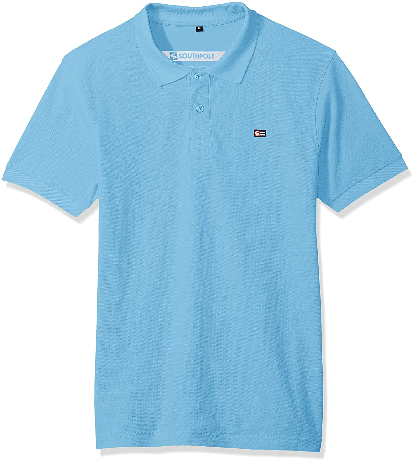 Southpole Men's Classic Short Sleeve Solid Polo Shirt