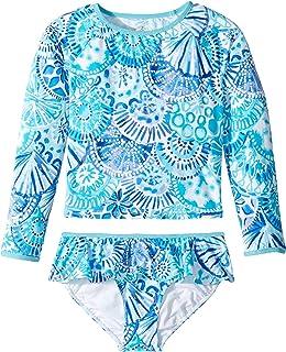 318b6cdf09f49 Lilly Pulitzer Kids Womens UPF 50+ Cora Rashguard Swim (Toddler/Little Kids/