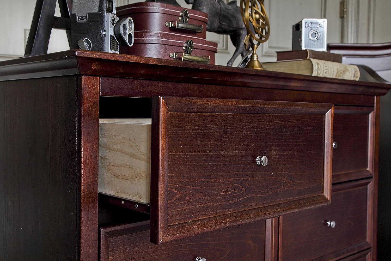 Million Dollar Baby Classic Foothill//Louis 6-Drawer Dresser White