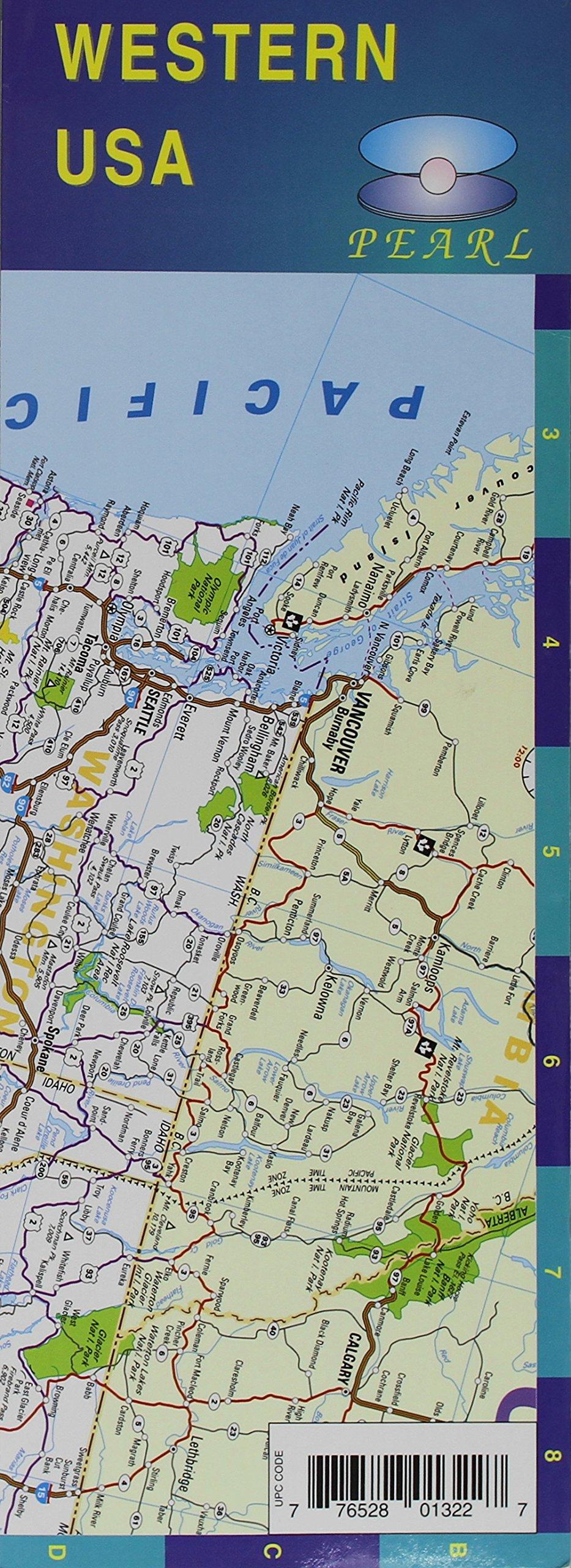 USA, Western Pearl Map; pdf epub