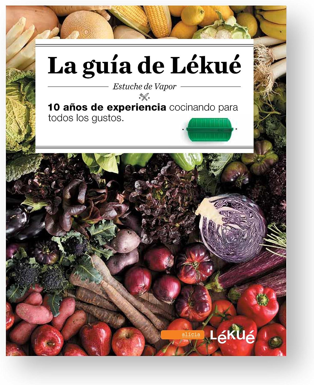 Lékué - Kit Estuche de vapor 1,2 personas + libro de recetas, 650 ...