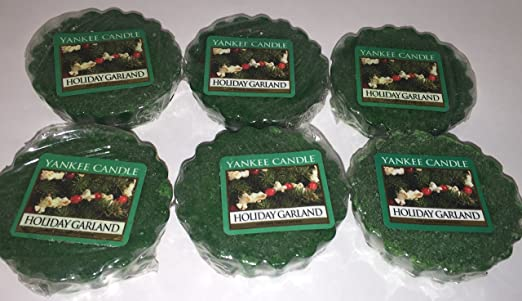 YANKEE CANDLE WAX TARTS SET OF 6 NEW -RARE LEMON ZEST