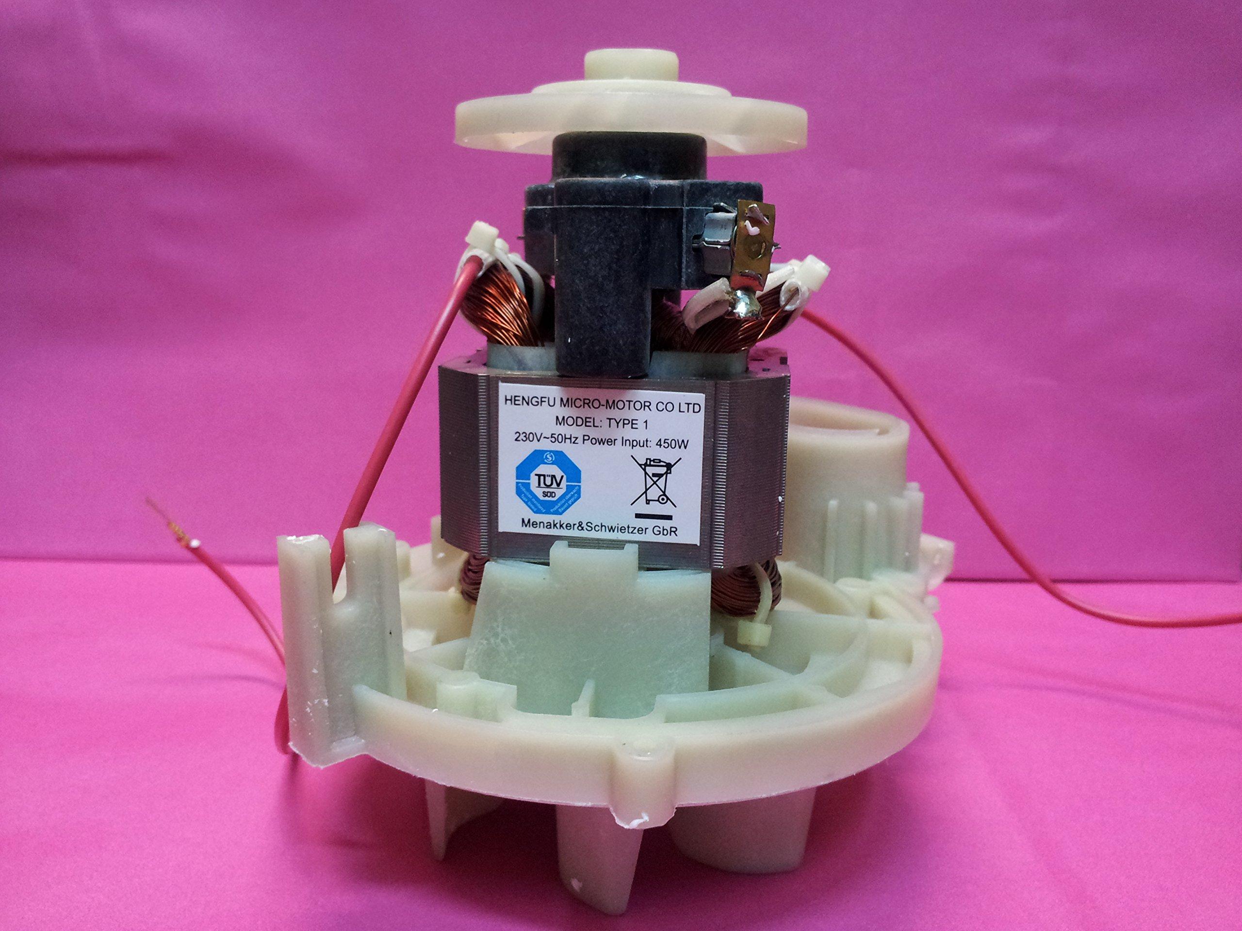 VORWERK FOLLETTO MOTORE VK 120-121-122 POTENZIATO 450 WATT CON CERTIFICAZIONE TUV product image