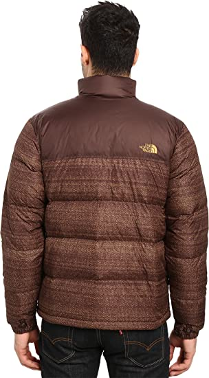 5a642557c819 Amazon.com  The North Face Men s Nuptse Jacket Coffee Bean Brown Twitch  Print Coffee Bean Brown (Prior Season) X-Large  Clothing