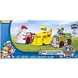Paw Patrol Rescue Racers 3pk Vehicle Set: Marshal, Rubble, Rocky