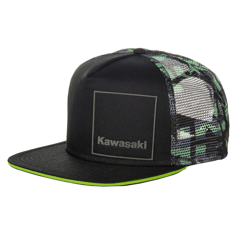 Hermosas gorras de la marca kawasaki para lucir