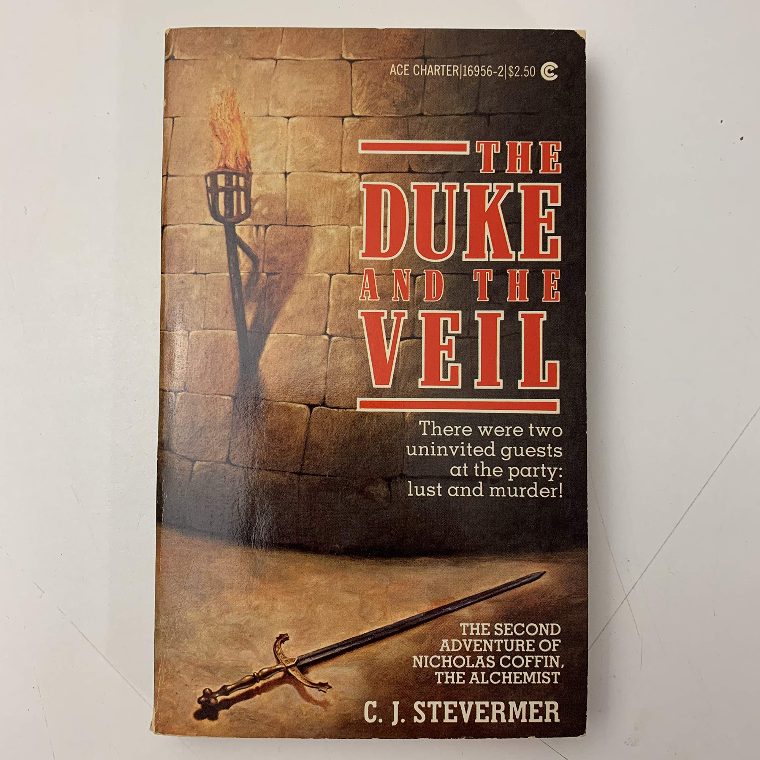 The Duke and the Veil cover