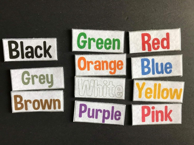 Colors Felt Board Set