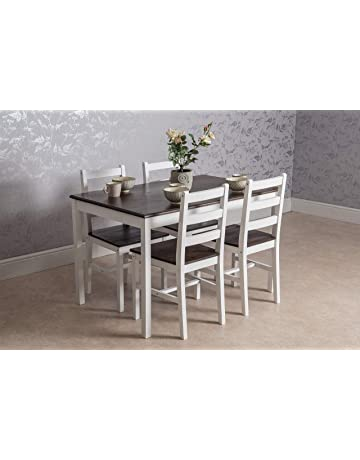 Wooden Dining Table and Chair Set in Choices of Size and Color cd0396861c