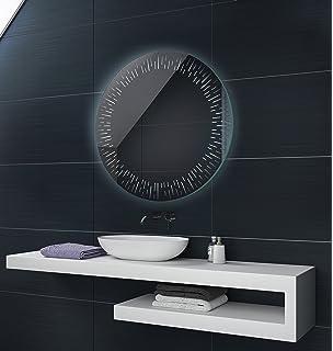 CUSTOM 60 x 80 cm Illumination LED miroir sur mesure eclairage salle