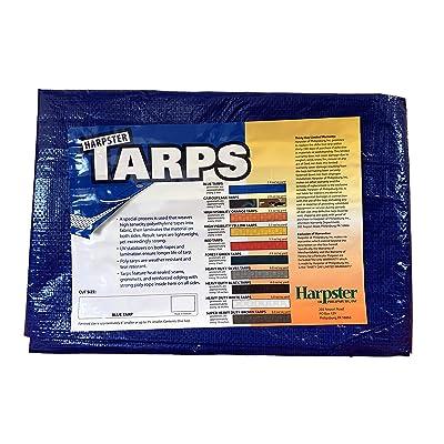 Blue Tarp 2.9 OZ, 18\'x18\' [5Bkhe1504172]