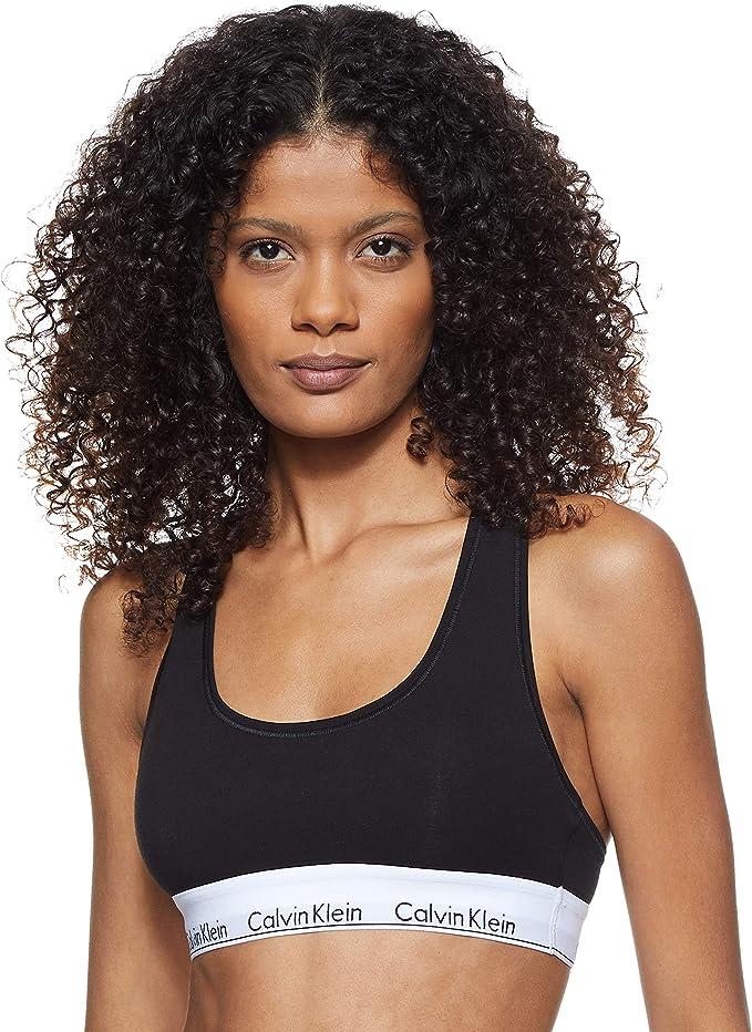 Reggiseno calvin klein modern cotton-bralette corsetto donna 0000F3785E
