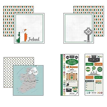 Amazon.com: Scrapbook Customs Irlanda Adventure Scrapbook ...