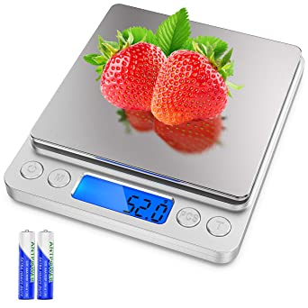 Digital Kitchen Scales Digital Gram Scales LCD Household Scales Gram Scales Precision Scales