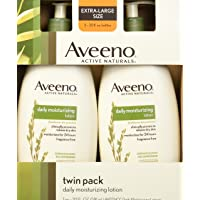 Aveeno Aveeno Active Naturals Daily Moisturizing Lotion, New 2 Pack Of 20 Fl Ounce...