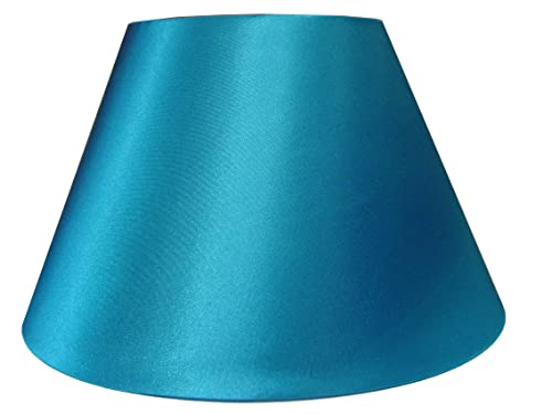 12 faux silk teal lampshade amazon lighting 10 empire shiny satin pendant ceiling table lamp shade teal aloadofball Image collections