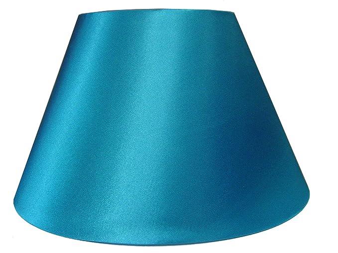10 empire shiny satin pendant ceiling table lamp shade teal 10quot empire shiny satin pendant ceiling table lamp shade teal aloadofball Image collections