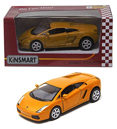 Shunkk Kinsmart Die Cast Metal Lamborghini Gallardo Diecast With