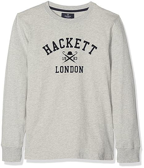HKT by Hackett LS HKT LDN Camisa Manga Larga, Gris (Grey 945), 7 ...