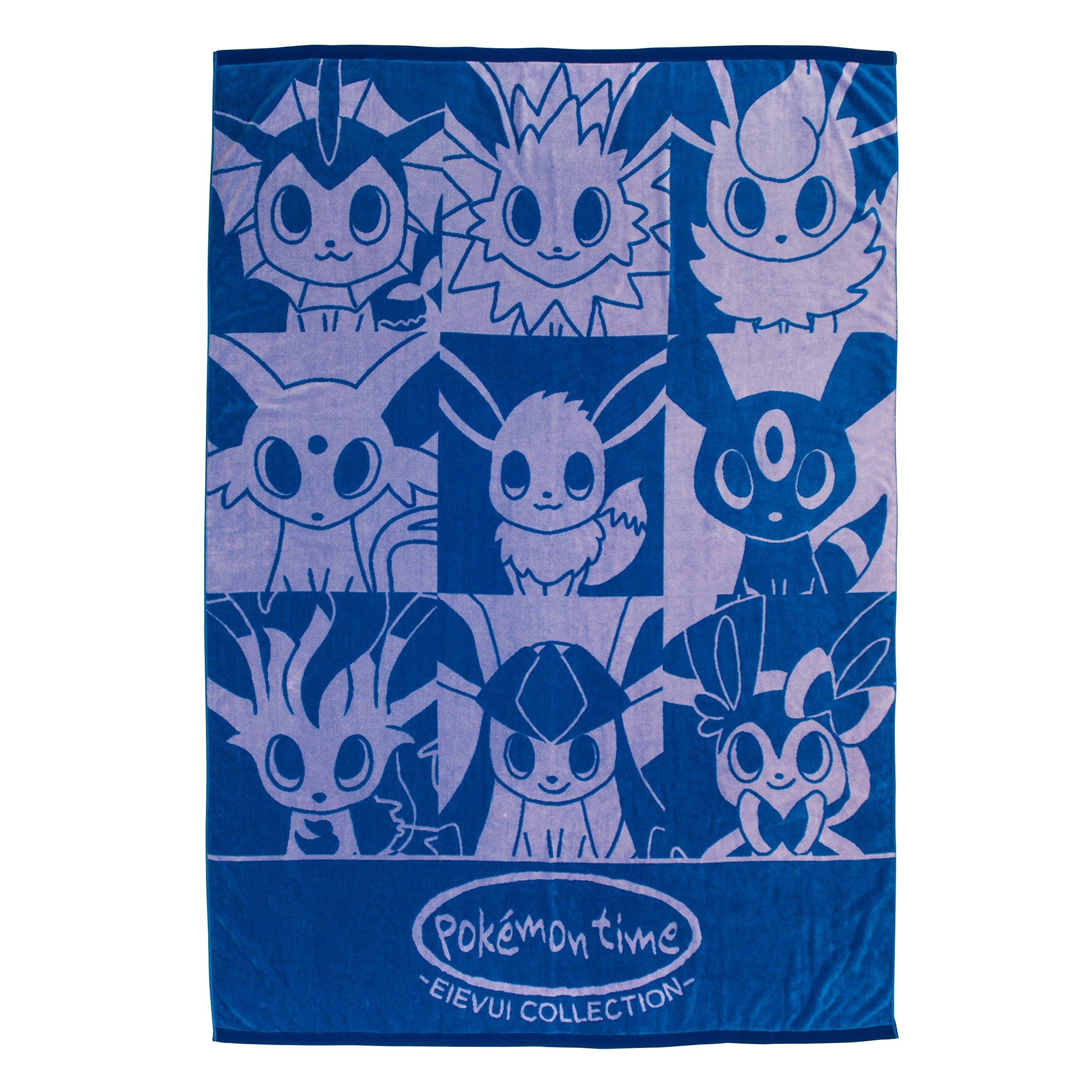 Pokemon Center Original cotton blanket pokémon time EIEVUI COLLECTION