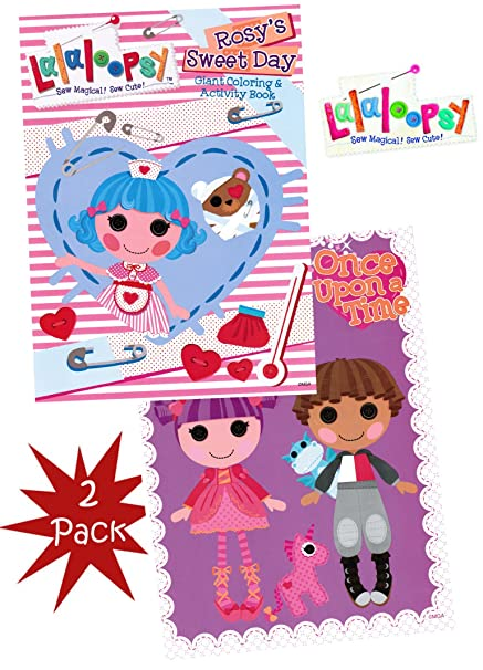 Amazon.com: Lalaloopsy Coloring (Set of 2): Toys & Games