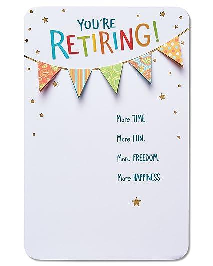 amazon com american greetings good things retirement
