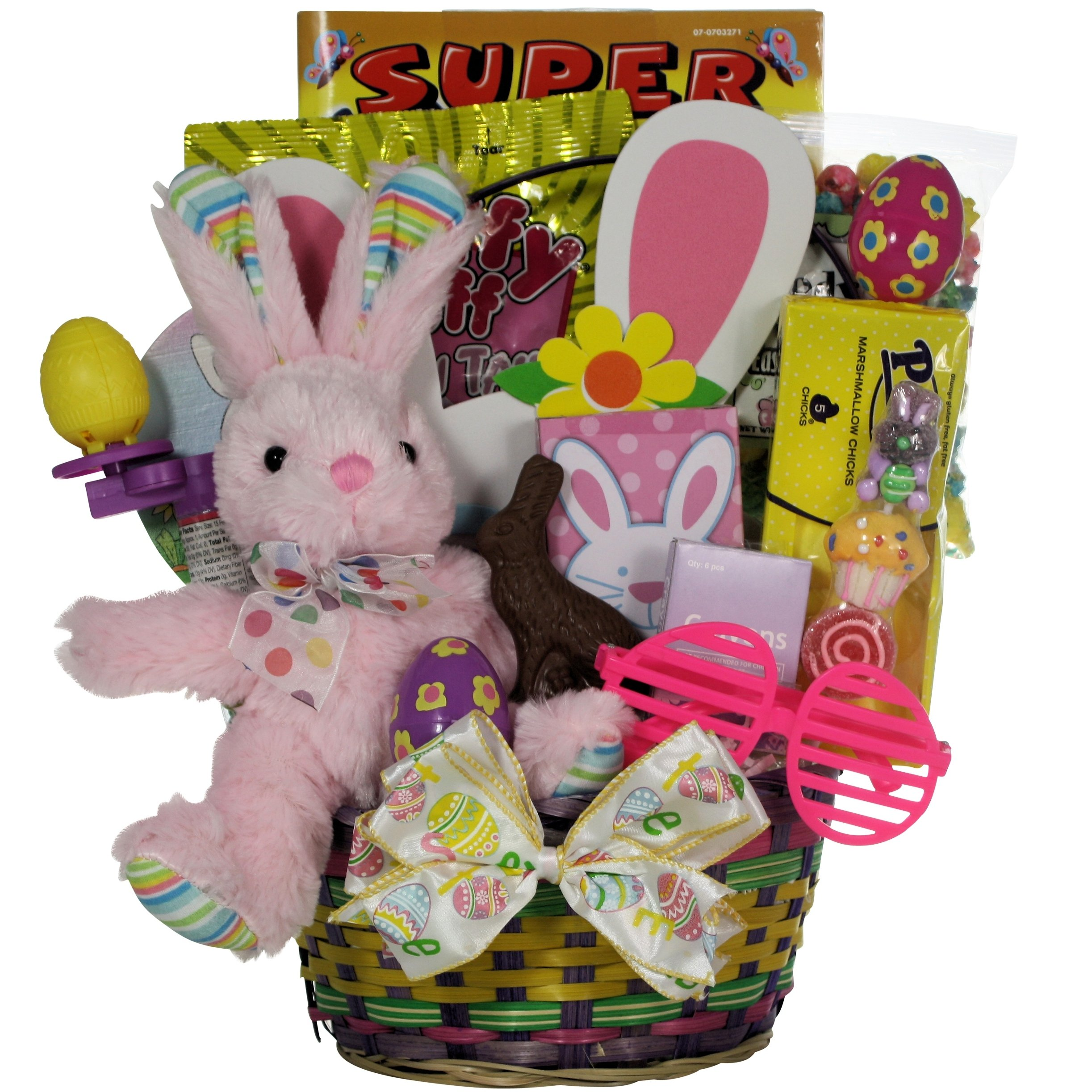 Amazon greatarrivals hoppin easter fun boy childs basket 3 greatarrivals gift baskets hoppin fun girl childs easter basket negle Images