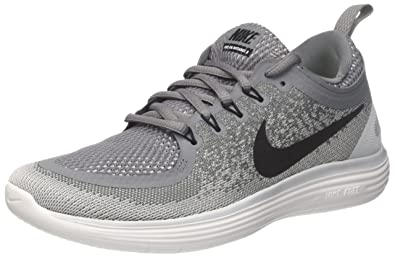 best service 90f88 f3736 Nike Mens Free RN Distance 2, Cool GreyBlack - Wolf Grey, 6