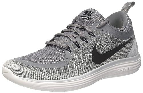 newest 03186 32e07 Nike Free Rn Distance 2, Scarpe da Corsa Uomo, Grigio (Cool Grey