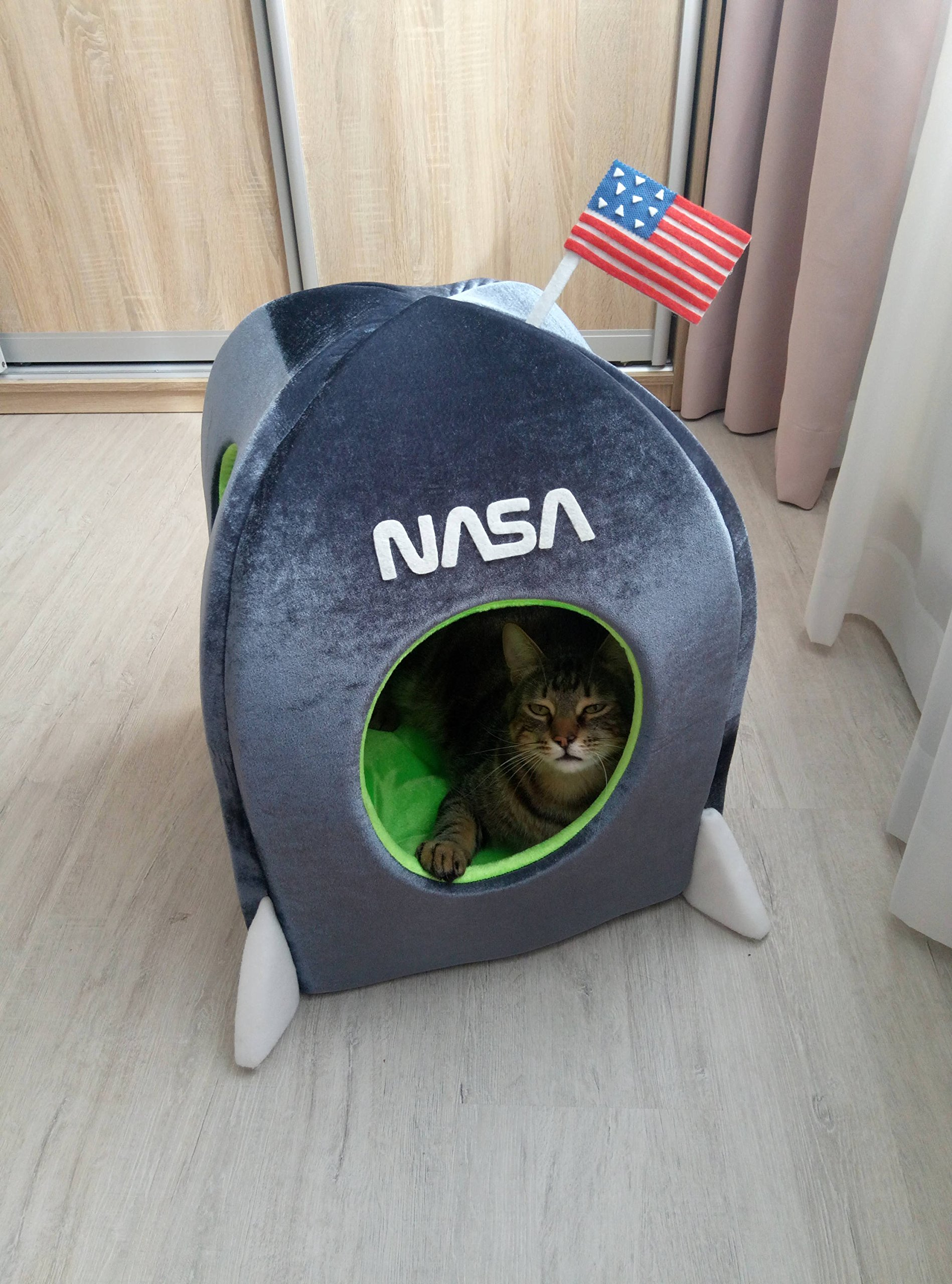 Cat House Rocket, Spaceship Сat house, Small Dog bed, Сat furniture, Сat teepee, Dog teepee, Pet teepee