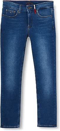 Tommy Hilfiger Scanton Slim Brushed-Brubldnm Jeans para Niños